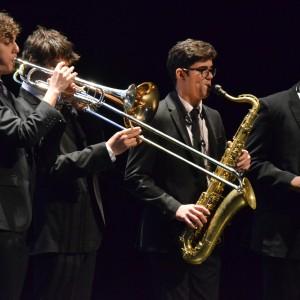 Las Vegas Academy's jazz band.