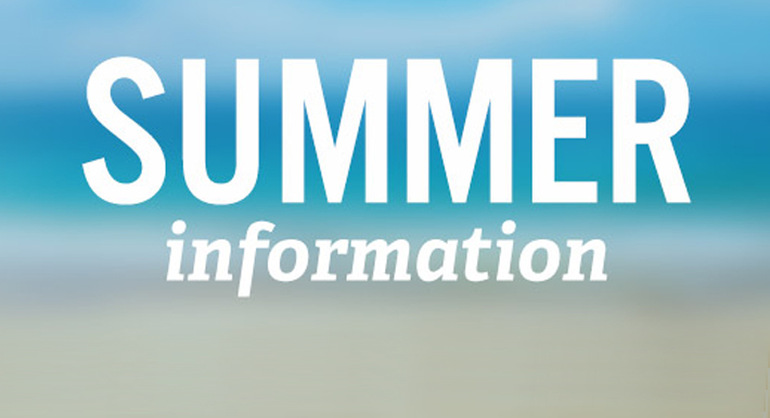 Summer information Web page logo