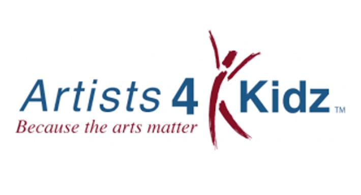 Artists 4 Kidz logo