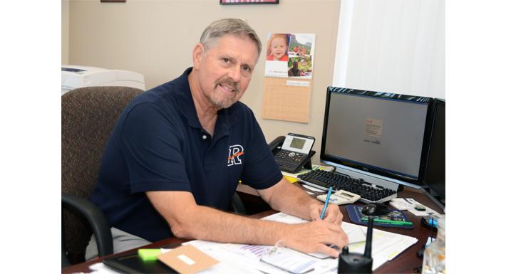 School Principal John Haynal