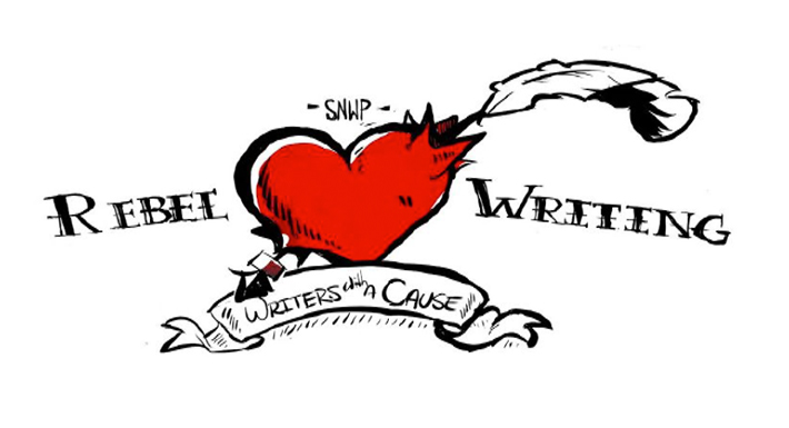 Rebel Writers camp logo