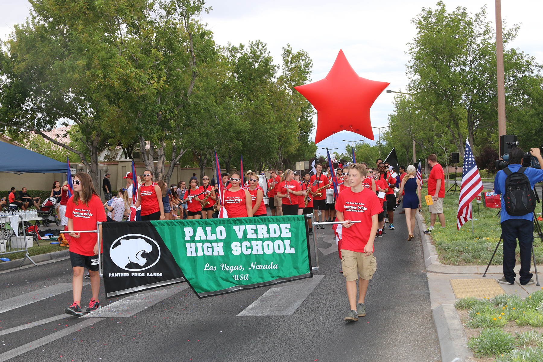 Palo Verde HS marching band