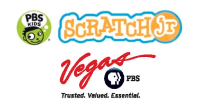 Vegas PBS ScratchJr logo