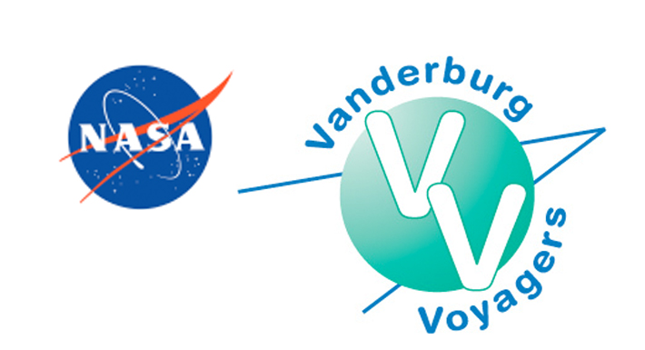 NASA & Vanderburg ES logos