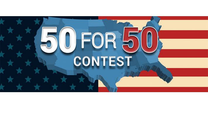 50 for 50 logo
