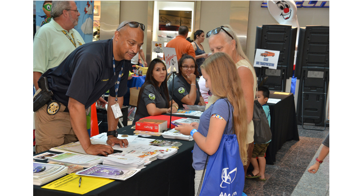 Back to School Fair at Galleria Mall 8-6-16