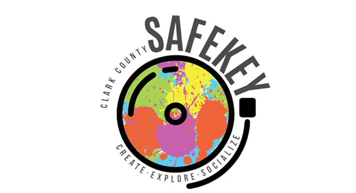 Clark County Safekey logo