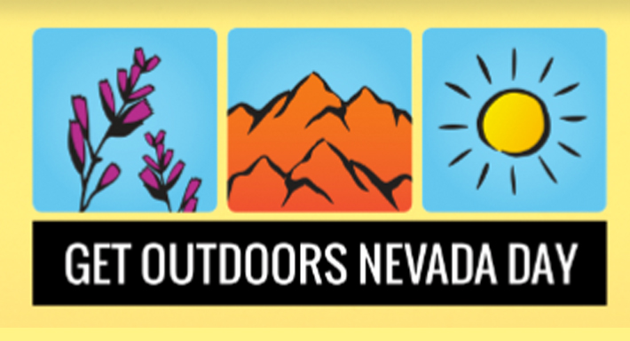 Get Outdoors Nevada Day logo