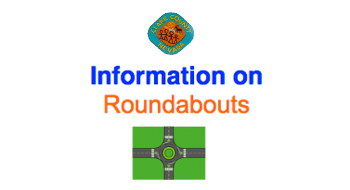 Info on Roundabouts graphic