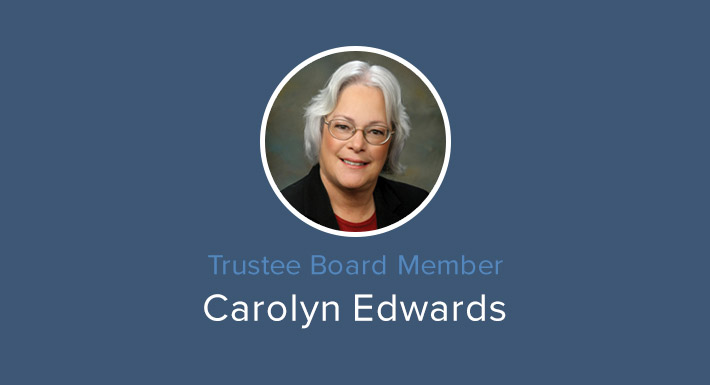 Trustee Carolyn Edwards