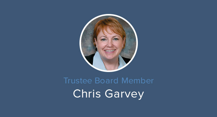 Trustee Chris Garvey
