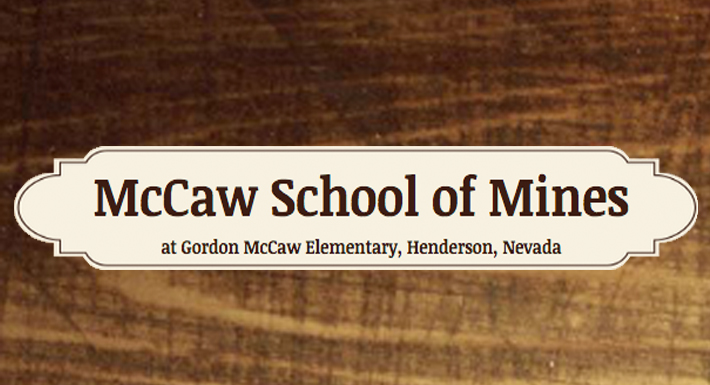 McCaw School of Mines logo