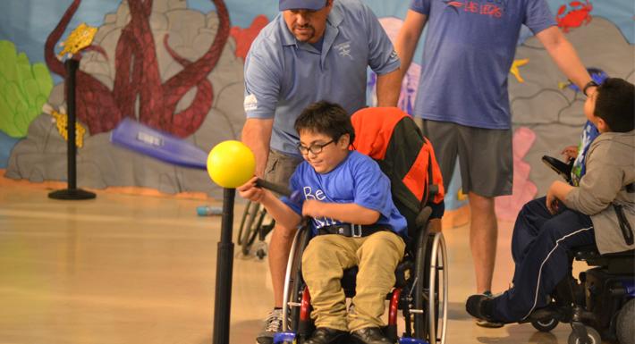 Paralympic baseball game 10/16