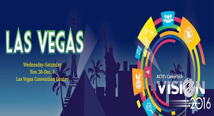 ACTE 2016 Las Vegas logo
