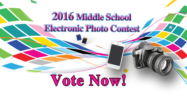 Middle School photo contest
