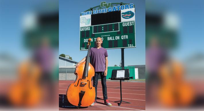 GVHS student Mitchel Vereen
