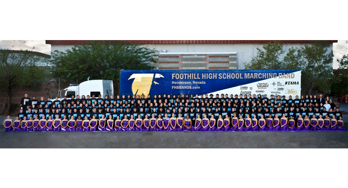Foothill HS marching band