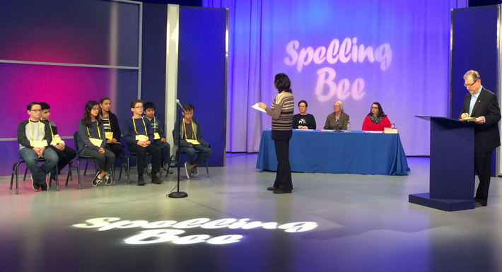 2017 spelling bee at VPBS