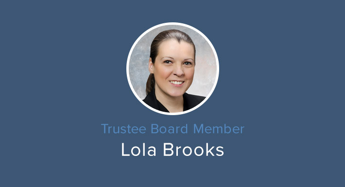 Trustee Lola Brooks, District E