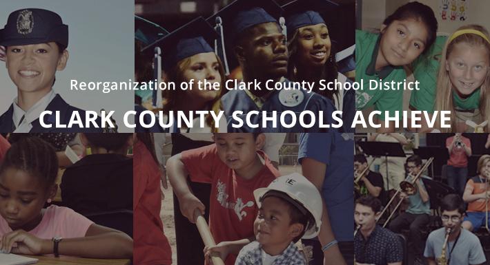 Clark County Schools Achieve banner