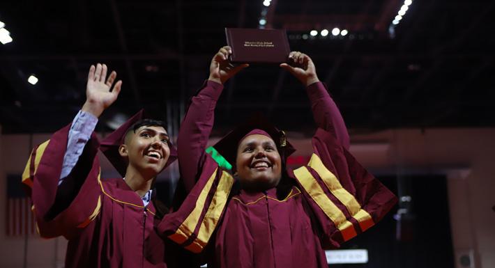 Class of 2018 set graduation rate record
