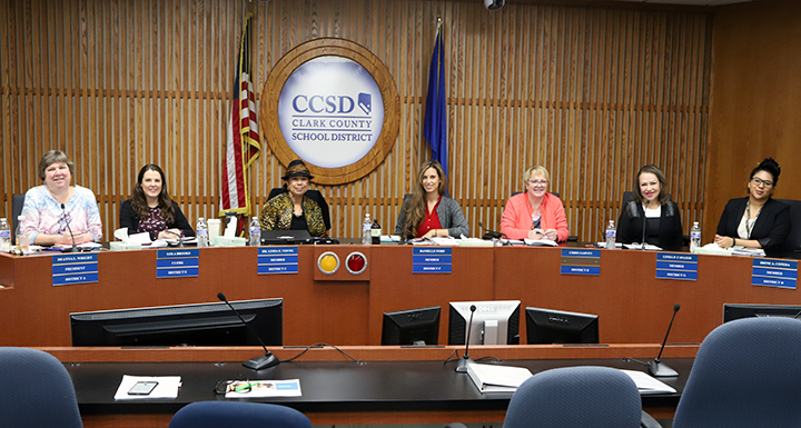 School Board of Trustees, 2019 January