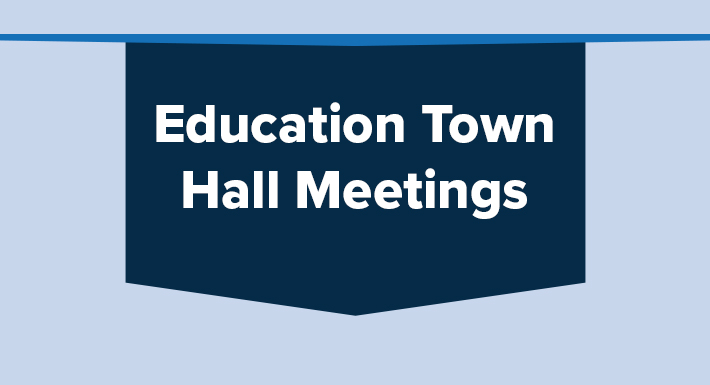 Education town hall meetings, 2019, 2