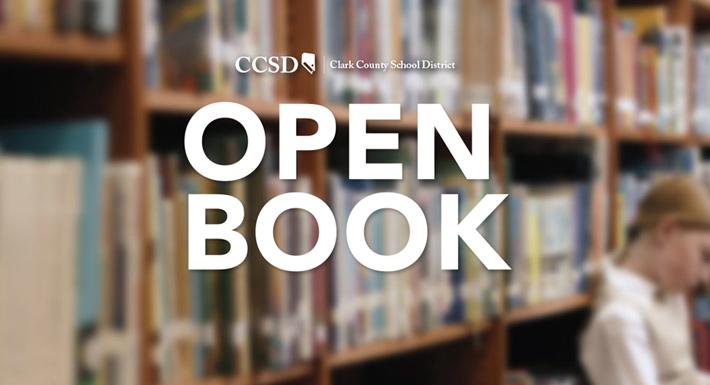 Screenshot of openbook.ccsd.net