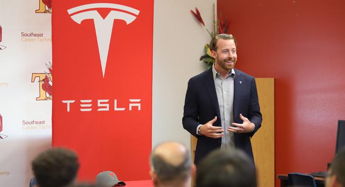 Tesla at SECTA