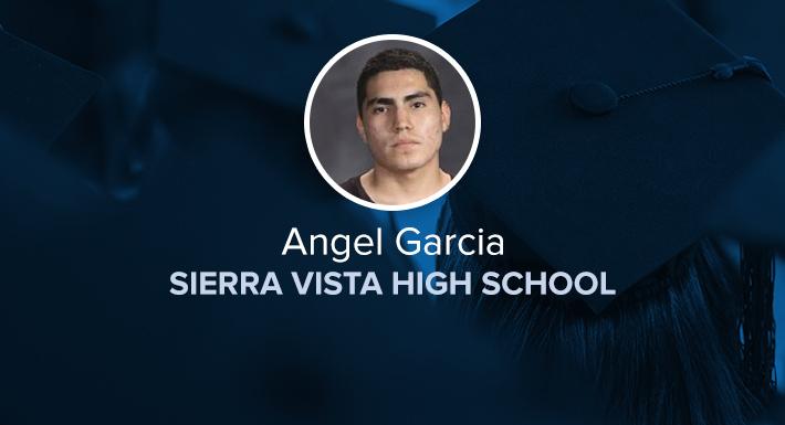 Sierra Vista HS Star Graduate Angel Garcia