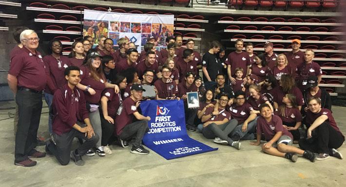 Cimarron-Memorial High School Highrollers 2019