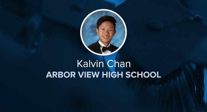 Arbor View HS Star Graduate Kalvin Chan
