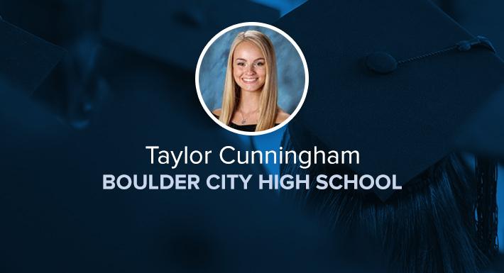 Boulder City HS Star Graduate Taylor Cunningham