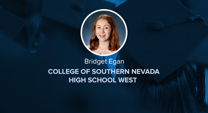 CSNHS West Star Graduate Bridget Egan
