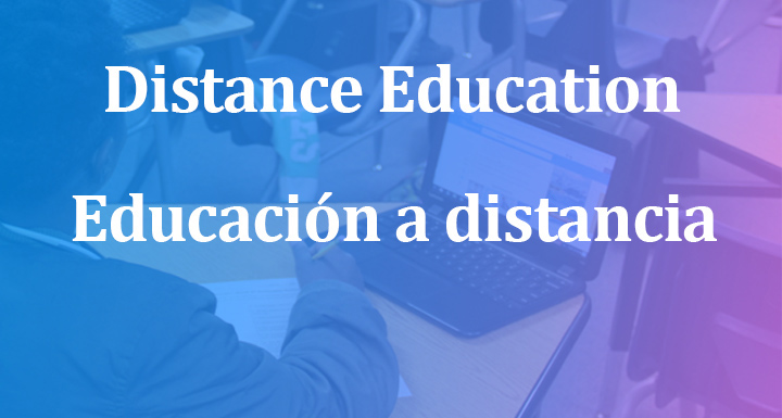 New Distance Education Banner