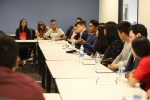 Superintendent Jara hosts a roundtable with students who were accepted into top universities, colleges and military academies