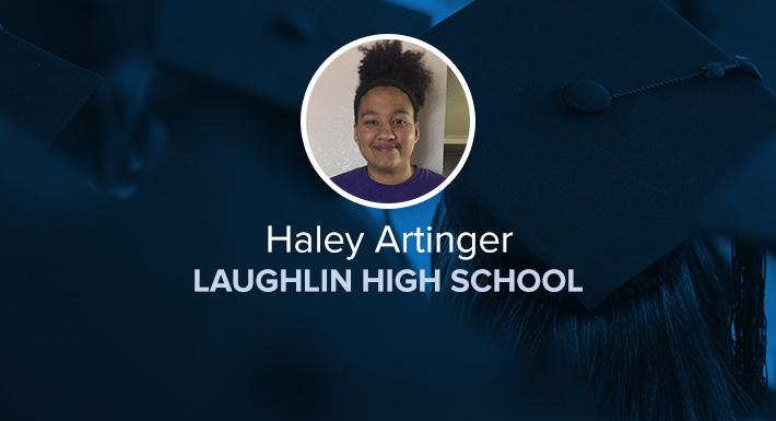 Laughlin HS Star Graduate Haley Artinger