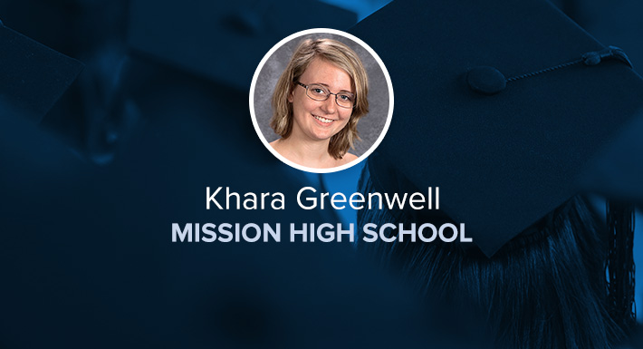 Mission HS Star Graduate Khara Greenwell