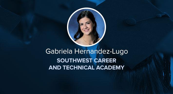 SWCTA Star Graduate Gabriela Hernandez-Lugo