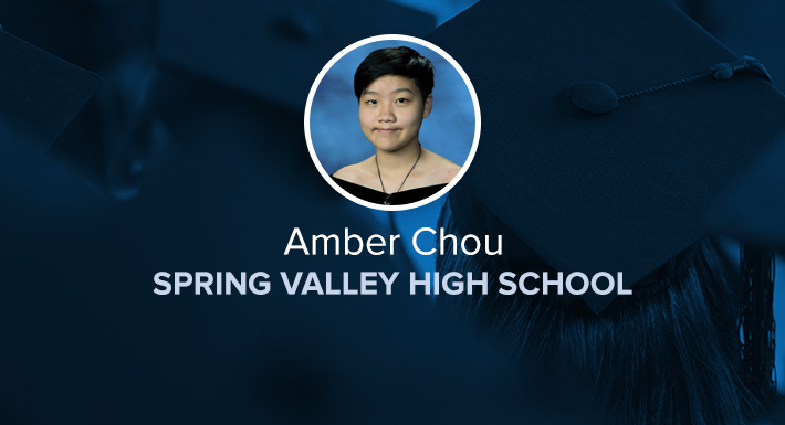 Spring Valley HS Star Graduate Amber Chou