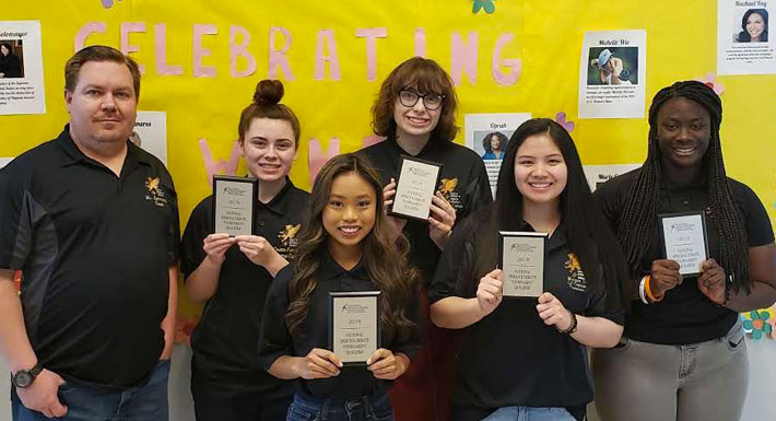 Northwest CTA students qualify for national speech and debate championships 2019