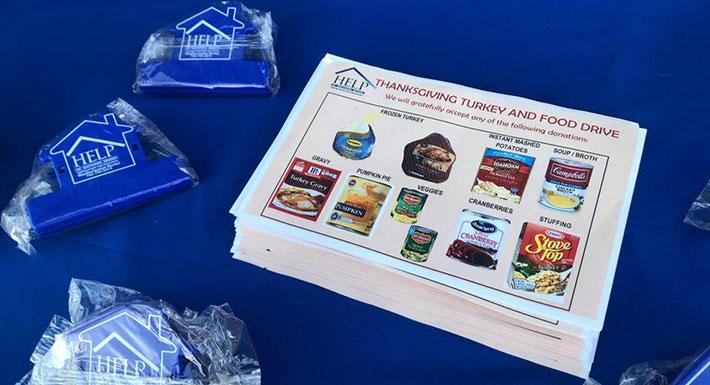 HELP of Southern Nevada food drive